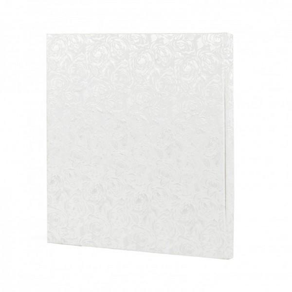 Trouwalbum 60 pagina's wit / zilver - Model 1707