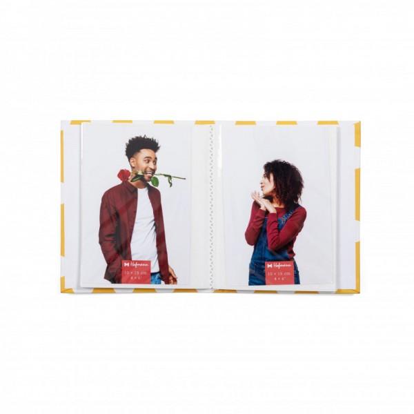 Fotoalbum Polkadot - Geel - 52 foto's 10x15 cm - model 1676-AM