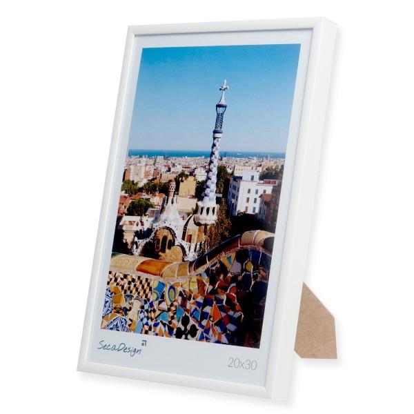 witte aluminium fotolijst