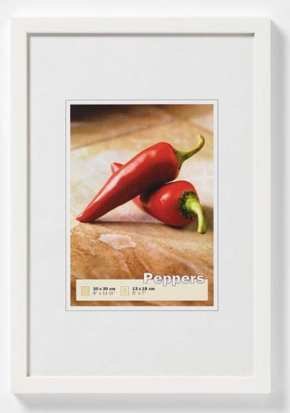 houten fotolijst wit 40x60