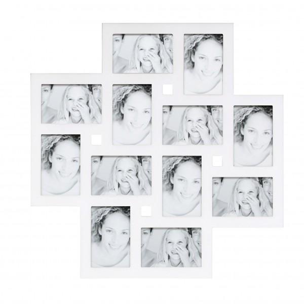 Multi fotolijst - 10x15cm wit