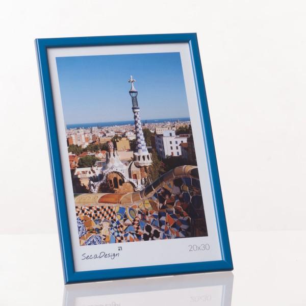 Kunststof fotolijst - Iris blauw