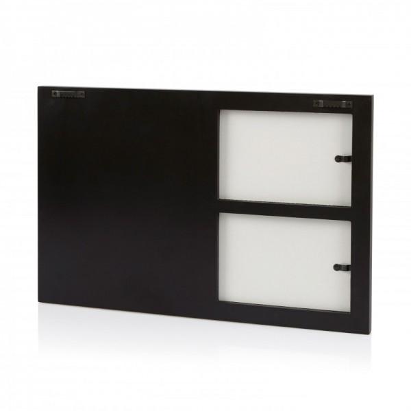 Multi fotokader met magneten - zwart - model 388 N