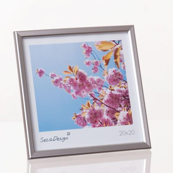 Kunststof fotolijst - Iris zilver