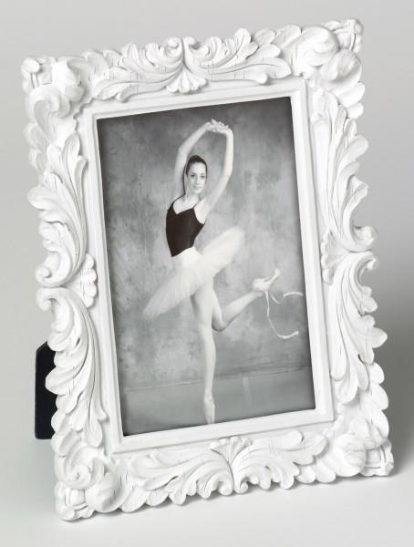 Fotolijst barok wit