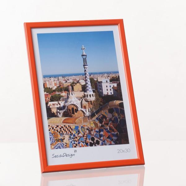 Kunststof fotolijst - Iris oranje