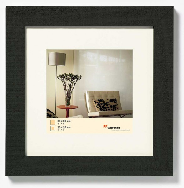 houten fotolijst home zwart vierkant