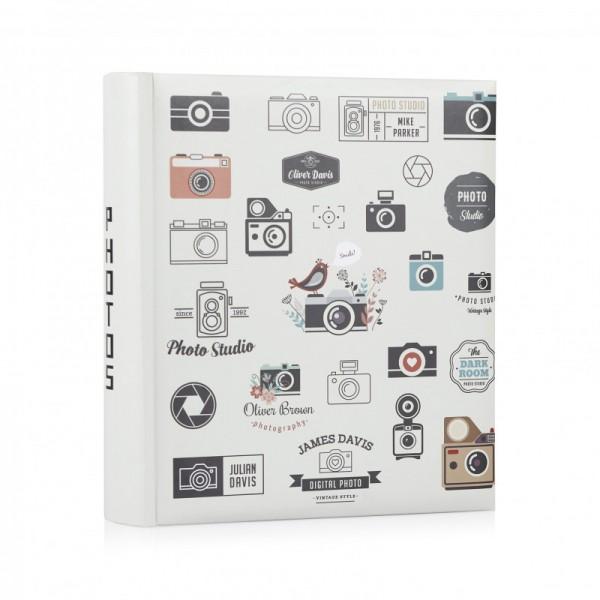 Fotoalbum met camera's - 200 foto's 10x15 - model 1326