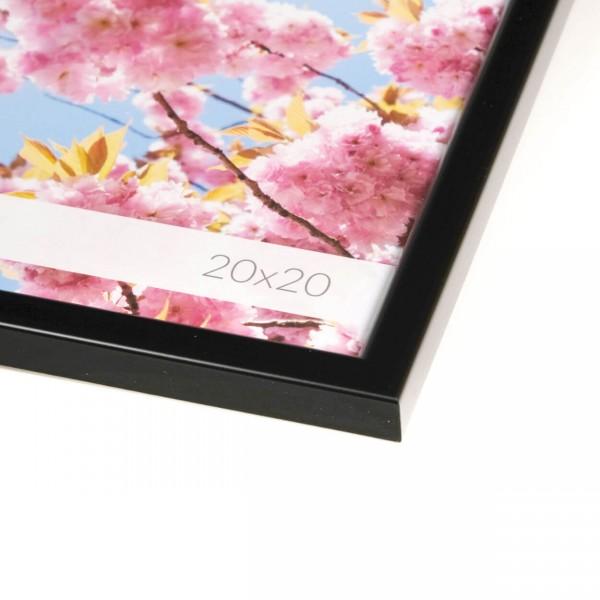 Kunststof fotokader - Iris zwart
