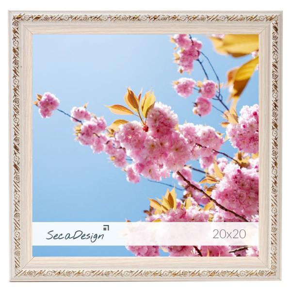 Fotolijst met bloemen patroon vierkant