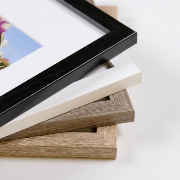 Houten fotolijst Tundra wit