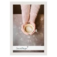 Houten fotolijst Nervi wit