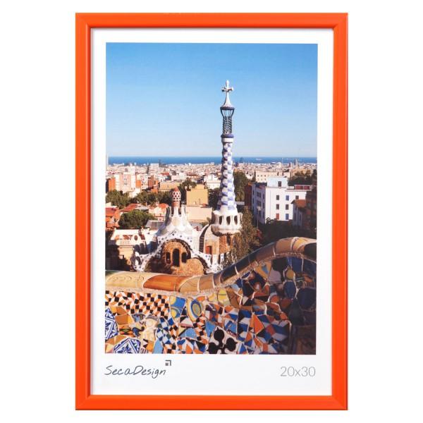 kunststof fotolijst oranje