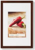 Houten fotokader - Peppers - bruin