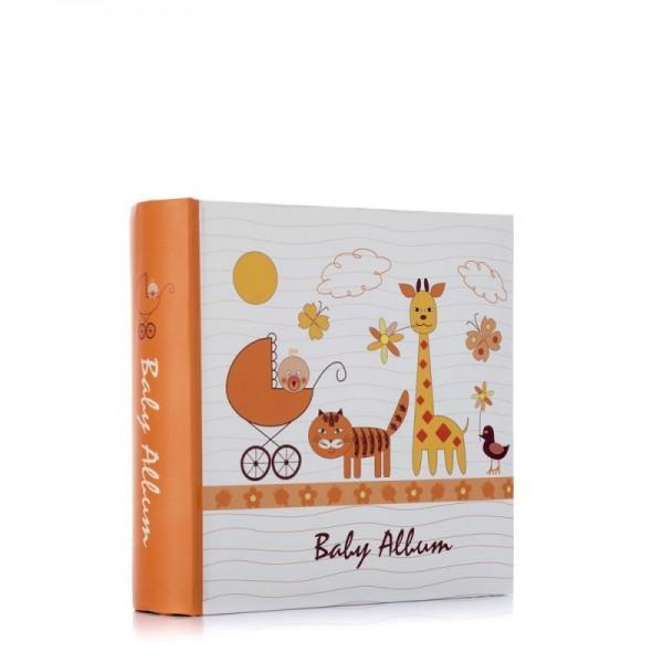 Baby fotoalbum met dieren - 100 foto's 10x15/11,5x15 - model 1814