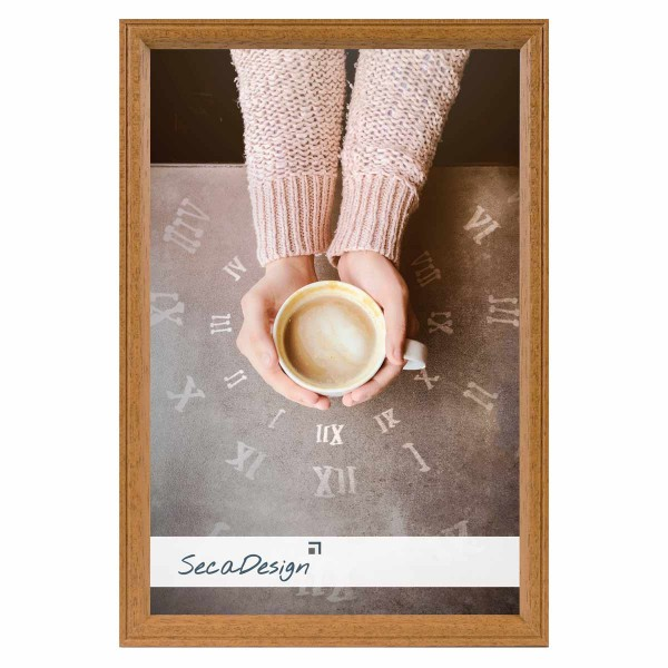 houten fotolijst linea lichtbruin