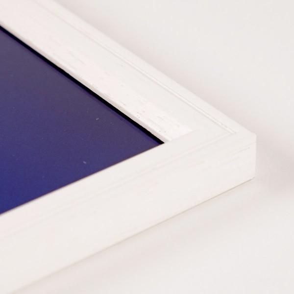 Houten fotokader Linea wit