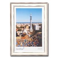 Landelijke fotolijst - Picardie – Wit