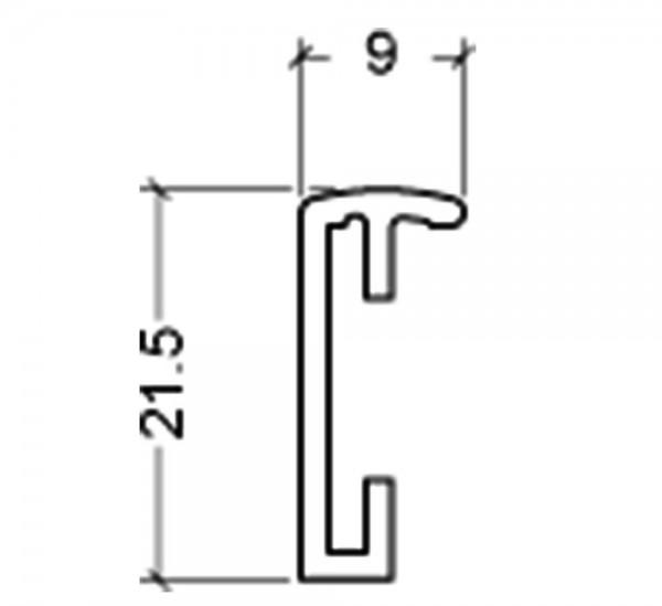 Aluminium fotokader - Lumi - staal