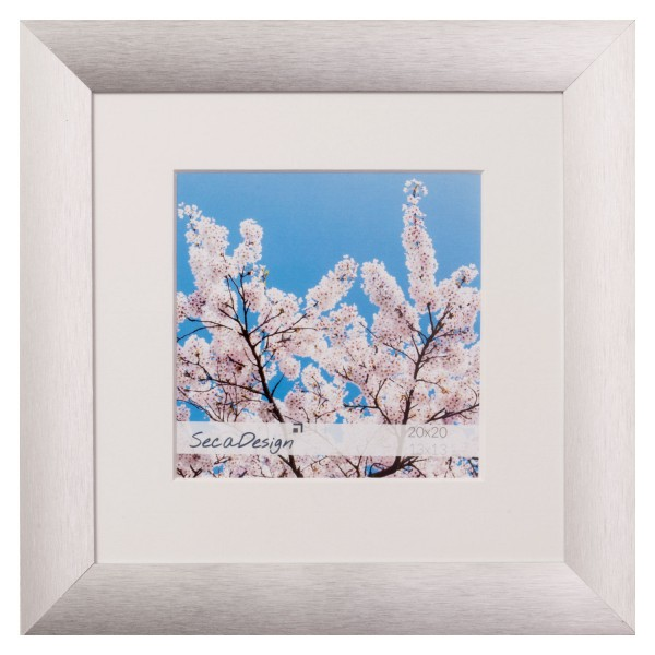 Aluminium fotolijst - Lumi Pro zilver vierkant