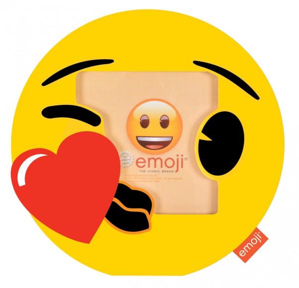 Emoji fotolijst - Smiley Kiss