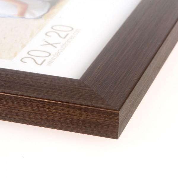Fotokader metallic bruin/brons