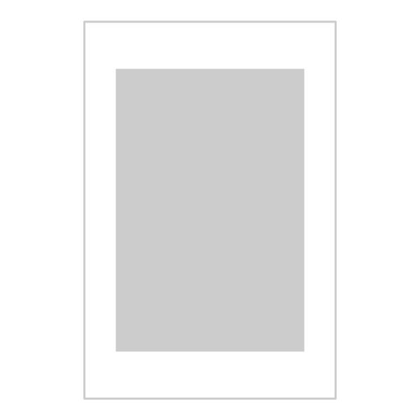 Passe-partout wit - buitenmaat 40x60cm - fotomaat 30x45cm
