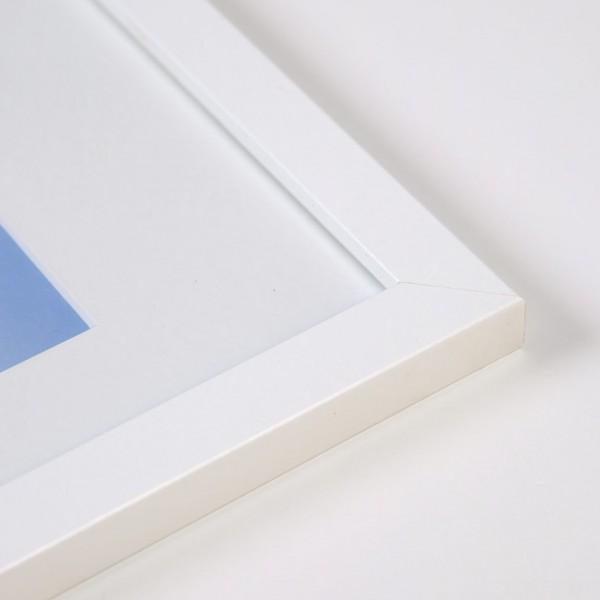 Houten fotokader Tundra wit