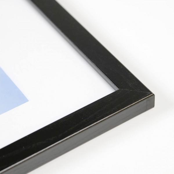 Houten fotokader Tundra zwart