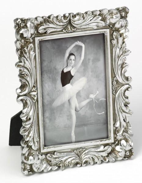 Fotolijst barok zilver