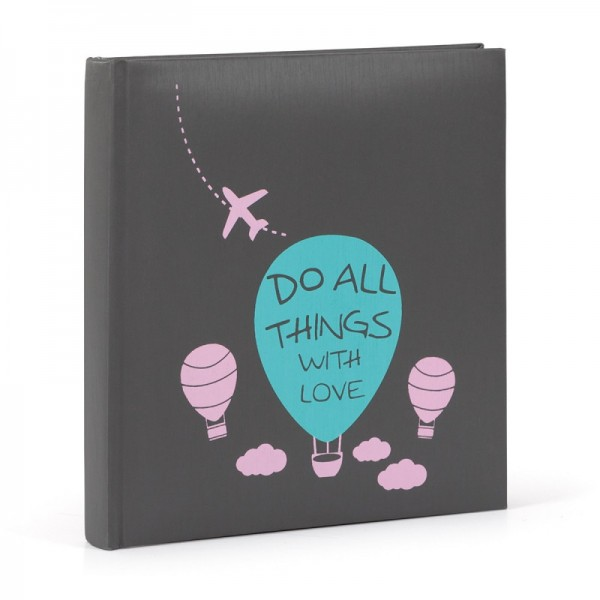 Memo Fotoalbum Do all things with love - 200 foto's 10x15 cm - model 1642