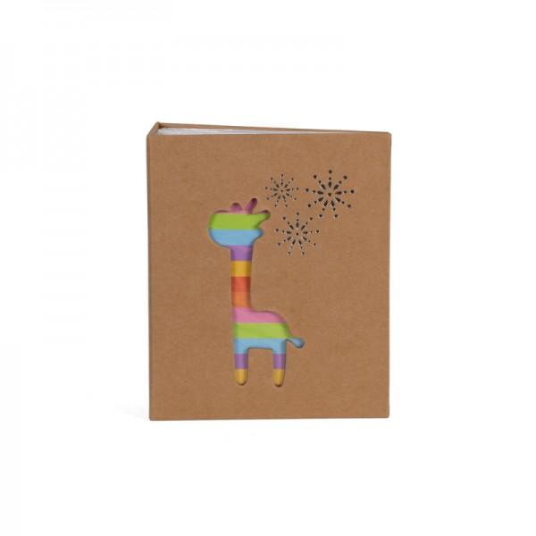 Insteekalbum Giraffe 100 foto's 10x15cm - Model 1690