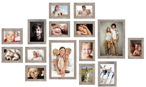 fotomuur 15 fotolijsten