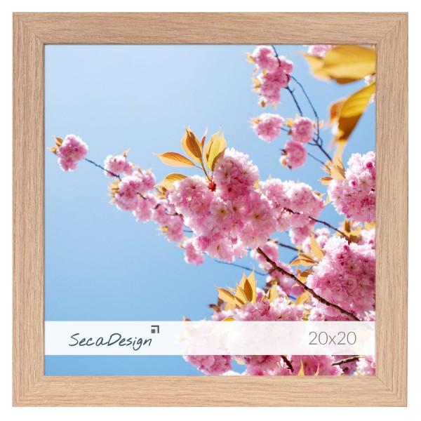 vierkante houten fotolijst Anima essenhout kleur