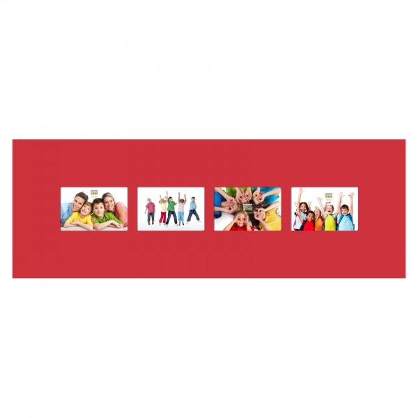 Vierluik fotolijst - Rood - Deknudt S67CK4 P4A