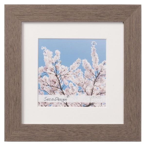 kunststof fotolijst grijs vierkant