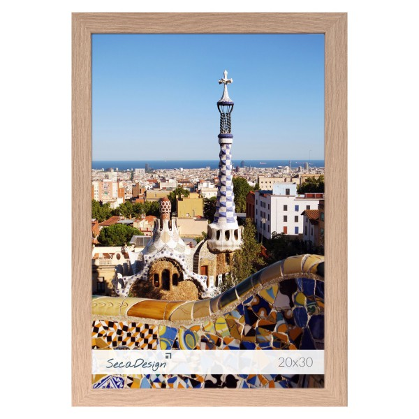 houten fotolijst Anima essenhout kleur