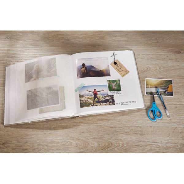Walther Fotoalbum Fun 30x30 cm - Blauw - FA-208-L