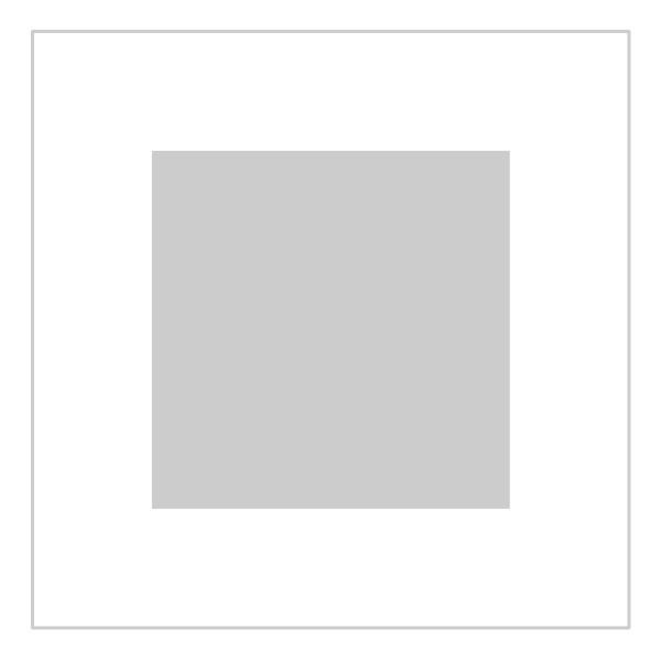 Passe-partout wit - buitenmaat 30x30cm - fotomaat 18x18cm