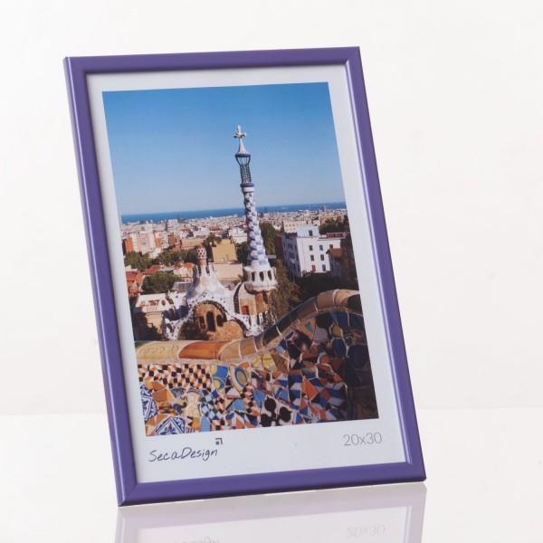 Kunststof fotolijst - Iris paars
