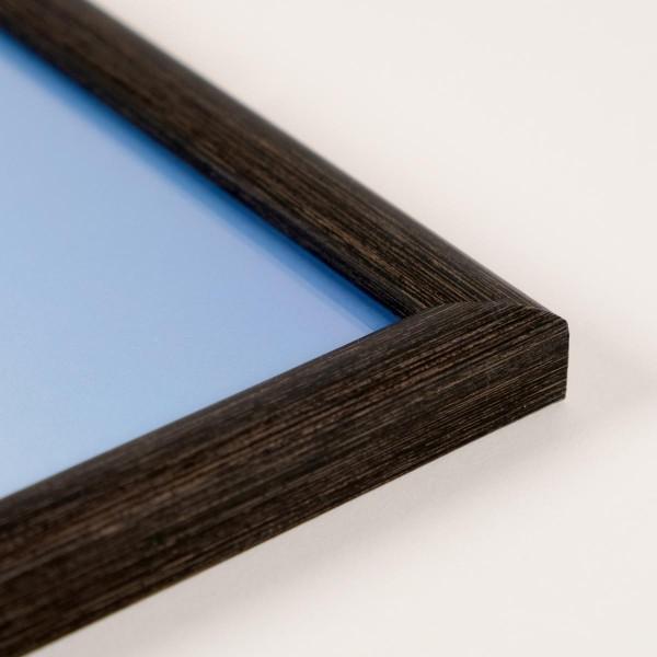 Fotolijst Materia zwart / bruin